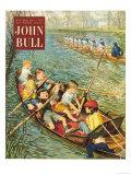 John Bull  Rowing Training Canoeing Canoes Sport Boats Magazine  UK  1950