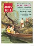 John Bull  Picnics Swimming Boats Magazine  UK  1950