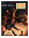 John Bull  Guy Fawkes Fireworks Magazine  UK  1953