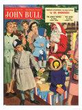 John Bull  Father Christmas Santa Claus Magazine  UK  1950