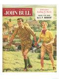 John Bull  Holiday Hiking Walking Trekking Outdoors Magazine  UK  1958