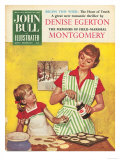 John Bull  Mothers and Daughters Baking Mince Pies Magazine  UK  1958