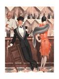Le Sourire  Cocktails Magazine  France  1920