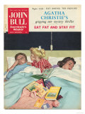 John Bull  Sleep Reading Children Bedtime Stories Beds Magazine  UK  1950