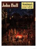 John Bull  Guy Fawkes Fireworks Bonfires Magazine  UK  1951