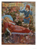 The Sleeping Beauty, Fairy Tales Children's Books Pantomimes Posters, UK, 1910 Giclée