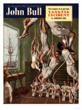 John Bull  Exercise Gyms Magazine  UK  1950