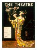The Theatre  Japanese Geishas  USA  1920