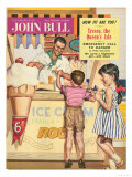 John Bull  Holiday Ice-Cream Magazine  UK  1950