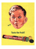 Rowntree's  Fruit Gums Sweets  UK  1950
