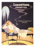 Loadstone  Cigarettes Smoking  UK  1920
