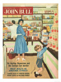 John Bull  Disasters Shopping Magazine  UK  1950