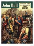 John Bull  Potatoes Magazine  UK  1950