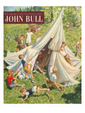 John Bull  Holiday Tents Camping Accidents Disasters Magazine  UK  1950
