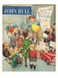 John Bull  Campaigns Politics Soap Boxes Voting Elections Education Magazine  UK  1950