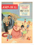 John Bull  Holiday Expressions Beaches Seaside Inflatables Magazine  UK  1950