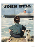 John Bull  Nautical Fishing Boats Magazine  UK  1946