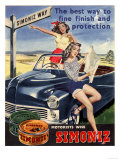 Simoniz Cars Wax Polish Sex Objects Sexism Discrimination  UK  1950