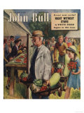 John Bull  Villages Fetes Vegetables Flowers Show Magazine  UK  1949