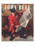 John Bull  Chelsea Pensioners Reading Newspapers Magazine  UK  1947