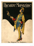 Theatre Magazine  Clowns Jesters Magazine  USA  1921