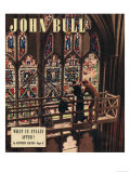 John Bull  Churches Stained Glass Windows Repairs Magazine  UK  1948