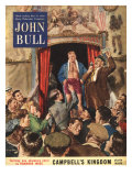 John Bull  Boxing Fairs Showmen Booths Magazine  UK  1952