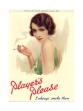 Player&#39;s Navy Cut  Cigarettes Smoking  UK  1930