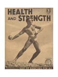 Health and Strength  Body Building Fitness Exercise Gay Magazine  UK  1938