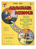 Armchairs Science  First Issue Magazine  UK  1929