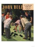 John Bull  Bowls Magazine  UK  1950
