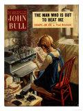 John Bull  Cooking Disasters Accidents  Burnt Toast Magazine  UK  1952