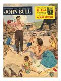 John Bull  Holiday Beaches Seaside Magazine  UK  1950