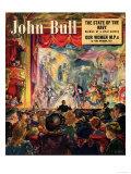 John Bull  Pantomimes Cinderella Magazine  UK  1949