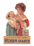 Robin Starch  Edwardian Products  Detergent  Baby  UK  1911