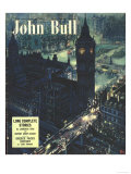 John Bull  Houses of Parliament London Magazine  UK  1950