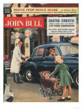 John Bull  Petrol Pumps  Garages  Gas  Prams Gasoline Magazine  UK  1957