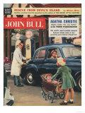 John Bull  Petrol Pumps  Garages  Gas  Prams Gasoline Magazine  UK  1957