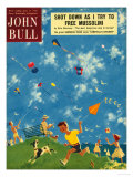 John Bull  Kites  Children Games Magazine  UK  1950