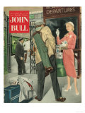 John Bull  Golf Collecting Tin Magazine  UK  1950