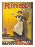 Rinso  Washing Powder Maids Products Detergent  UK  1910