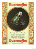 Equipment Burroughs  Adding Machines  Accountants  USA  1929