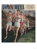 John Bull  Sports Races Athletes Runners Running Olympics Athletics Magazine  UK  1948
