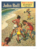 John Bull  Holiday Beaches Seaside Magazine  UK  1950