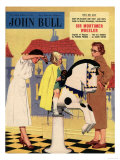 John Bull  Hair Salon Magazine  UK  1950