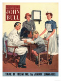 John Bull  Children Accidents and Injuries Magazine  UK  1950