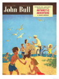 John Bull  Holiday Beaches Seaside Ice-Cream Magazine  UK  1950
