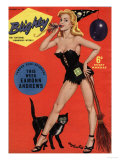 Blighty  Glamour Pin-Ups Models Halloween Magazine  UK  1958