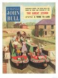 John Bull  Holiday Narrow Boats Canals Houseboats Magazine  UK  1950