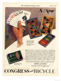 Playing Cards Games Congress  USA  1928